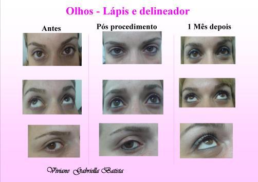 Micropigmentação - Maquiagem Definitiva - Olhos
