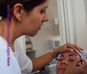 sobrancelhas com henna